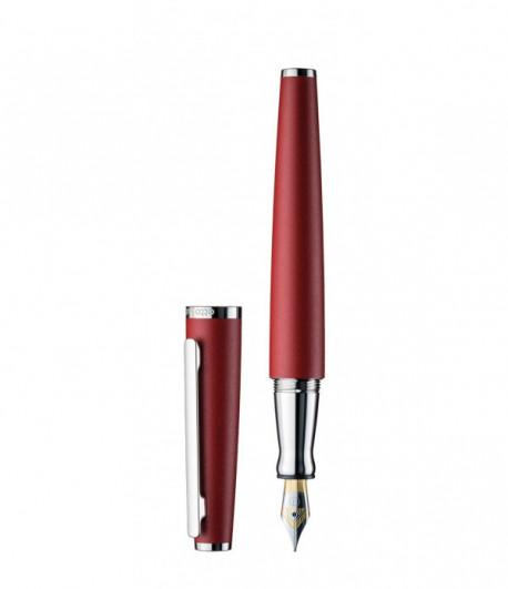 Stylo à plume Otto Hutt Design 06 laqué rouge brillant