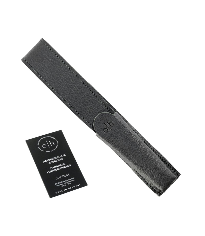 Étui cuir gris pour un stylo