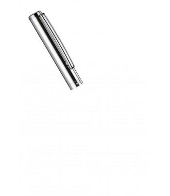 Stylo Plume Otto Hutt Design 01 - Détail Capuchon Argent Massif Lisse