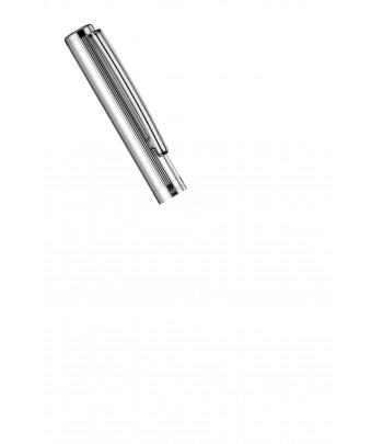 Stylo Plume Otto Hutt Design 01 détail Capuchon Argent Massif Ligné