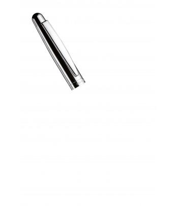 Roller Otto Hutt Design 02 - Détail capuchon argent lisse
